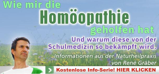 Homöopathie Newsletter von rené Gräber