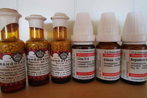 Homöopathie: Globulis in Flschen