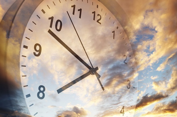 Zeitumstellung - Uhr