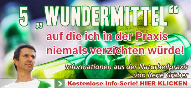 Newsletter von René Gräber zu den 5 Wundermitteln
