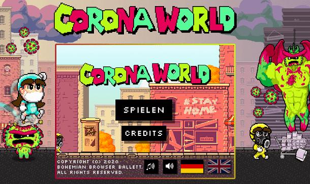Coronaworld Spiel online