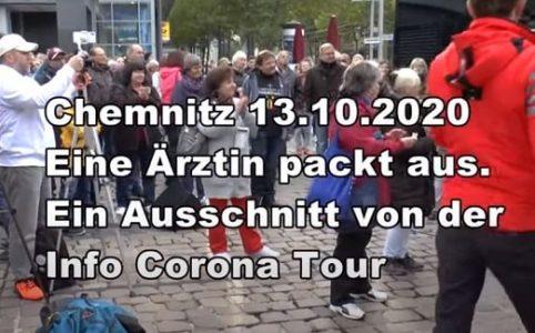 Chemnitz - Eine Ärztin packt aus zu Corona
