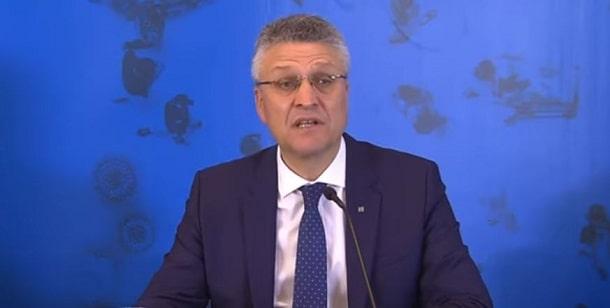 Herr Wieler - Pressekonferenz des RKI