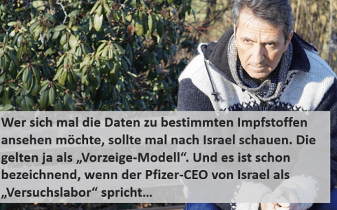 Pfizer CEO zu Israel