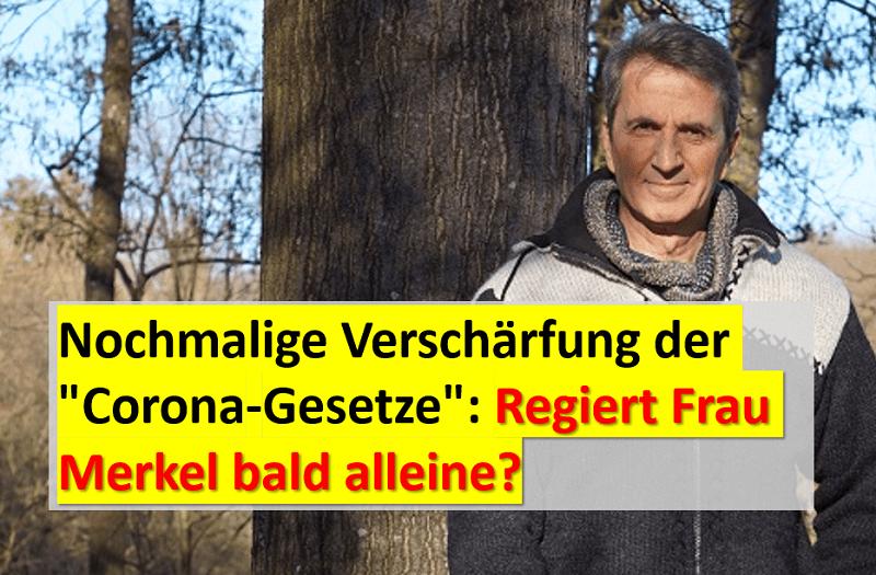 Regiert Frau Merkel bald alleine?
